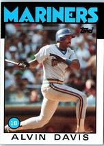 1986 Topps MLB Baseball Trading  Card of: ALVIN DAVIS #440 - $1.90
