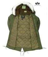 BRAND NEW ORIGINAL ALPHA INDUSTRIES M-65 M65 FISHTAIL PARKA WITH LINING ... - $191.78