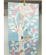 1969 Gibson I'm a Growing Girl Chart Wall Hanging Great Shape - $24.26
