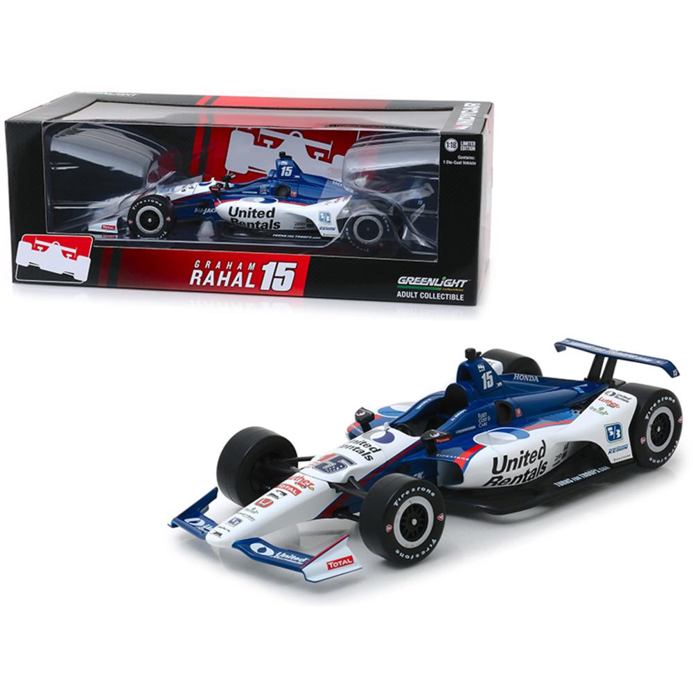 Honda Dallara Indy Car #15 Graham Rahal United Rentals Rahal Letterman Lanigan R