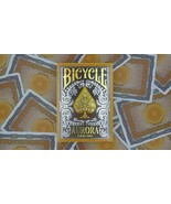 1 Deck Bicycle Aurora Foil Embossed Tuck Box Standard Poker Playing Card... - $4.39