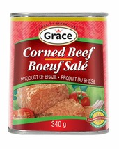 6 Pack Grace Corned Beef 340g Each - From Canada - FRESH & DELICIOUS! - $44.50