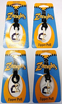 Zangles ZG-ZP-YOGA Zipper Pulls Great For Luggage Or Backpacks 4pcs - $2.18