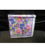 "Hanna K. Signature  ""Spring Iris"" Paper Beverage - 2 Ply Napkins Set of 36 - $5.89"