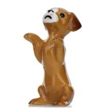 Hagen Renaker Dog Puppy Begging Ceramic Figurine image 1