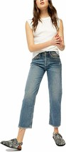 Free People Fast Times High-Rise Mom Jeans Indigo Blue 24 - $95.00