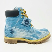 Timberland 6 Jimmy Jazz 21 Savage Blue Denim Mens Boots Size 9.5 TB0A15F1 - $1,700.00