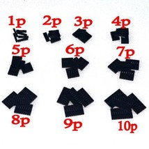 dupont kits 10 Values From 1P To 10P 2.54MM Pitch Dupont Housing Kit - $10.22