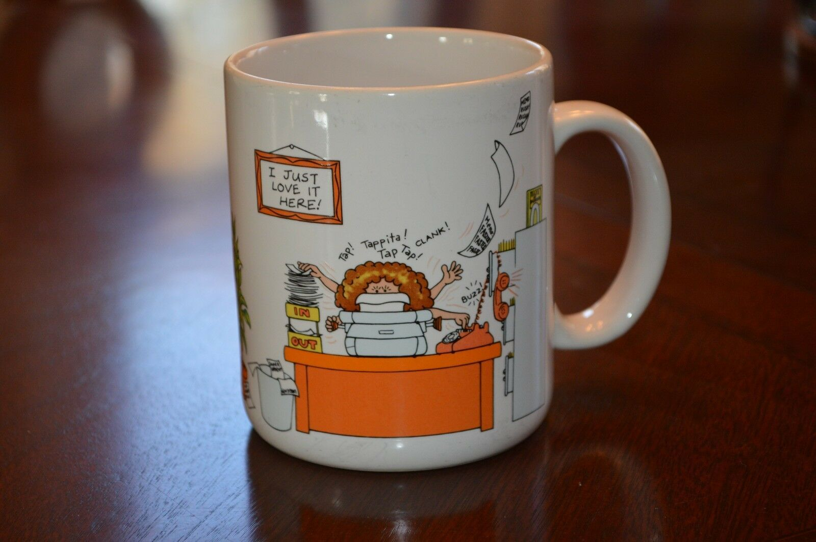 Primary image for Hallmark Mugs Coffee Mug How to Get Along at the Office Boss Friend Coworker Vtg