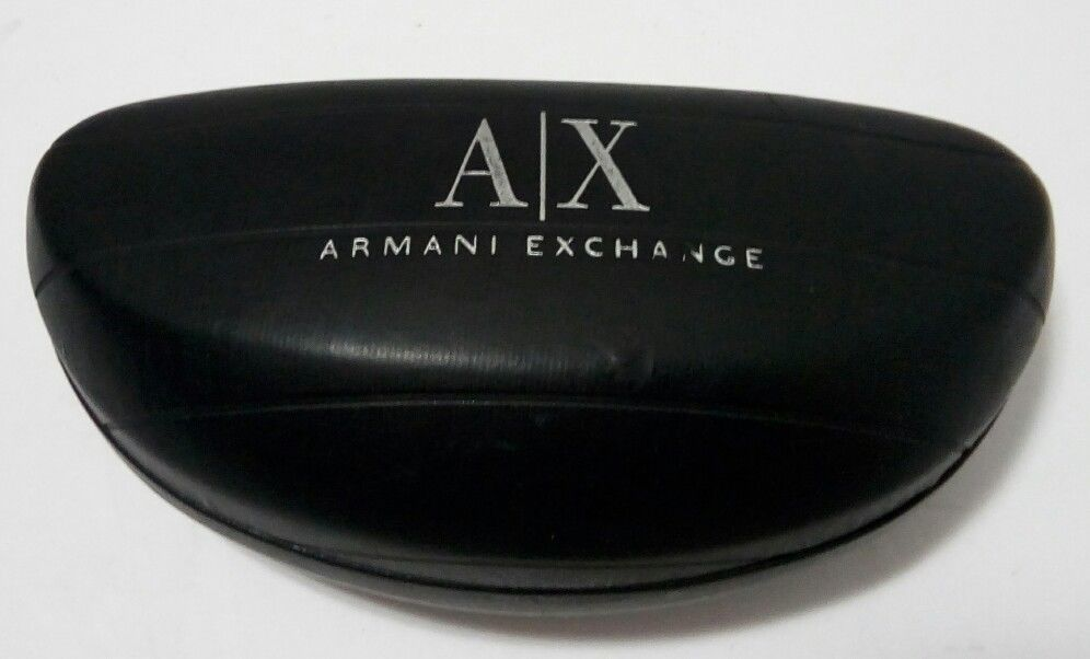 AX Armani Exchange Authentic Hard Glasses Case-Black
