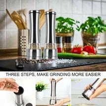 Pepper Grinder - Sea Salt and Pepper Grinder, Smooth and Effortless Manual image 4
