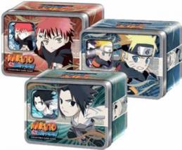 Naruto Ultimate Battle Chibi Tin Set of 3 - Sasuke,, Gaara [Toy] - $37.52