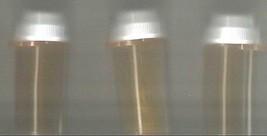 12 empty Medicine BOTTLES vials CRAFT Plastic AMBER pill STORAGE Sewing ... - $6.92