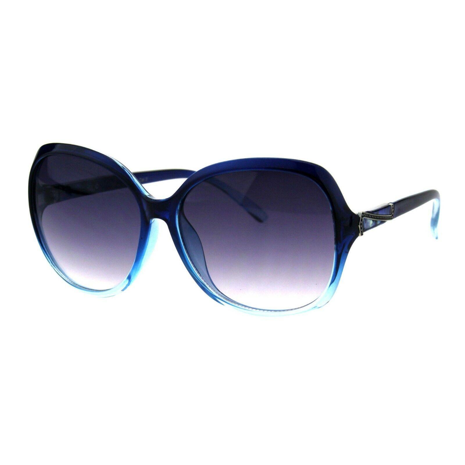 Round Square Sunglasses Womens Designer Style Classy Shades UV 400
