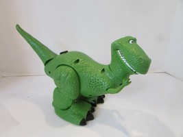 2010 MATTEL DISNEY TOY STORY WALKING TALKING T REX DINOSAUR WORKING  L13 - $24.45