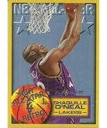 1996-97 Fleer #289 Shaquille O'Neal AS  - $0.50
