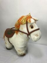 Cabbage Patch Kids CPK Show Pony Vintage 1984 Plush White Horse No box - $21.25