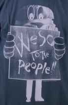 Wesc Mens We Are Superlative Conspiracy Dark Shadow Birger Burger T-Shirt NWT image 2