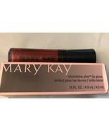 Mary Kay NouriShine Plus Lip Gloss .15 fl oz  Red Passion New Beautiful ... - $7.84