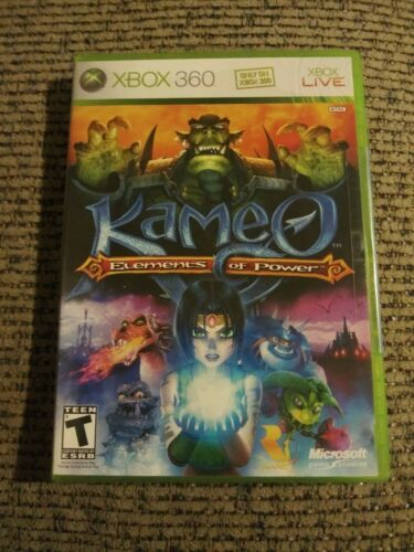Kameo: Elements of Power (Xbox 360, 2005) Rated T 2 Players Co-op NIP