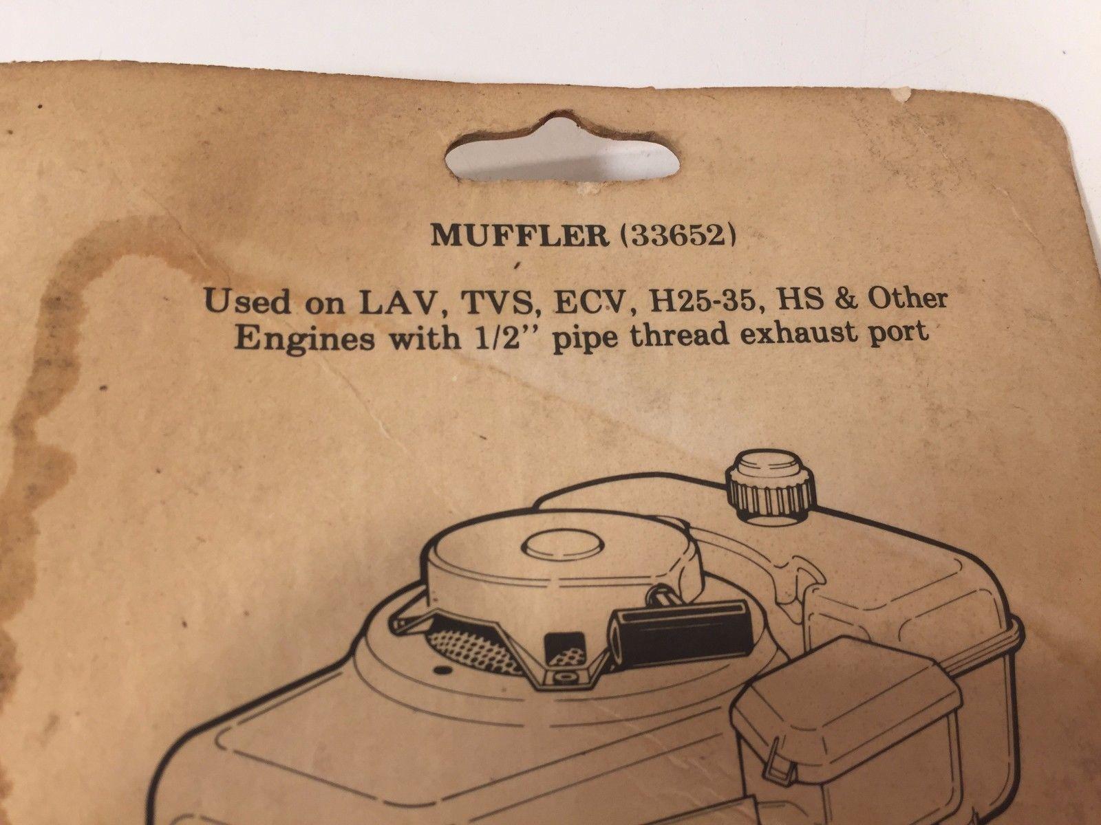 Genuine Tecumseh Muffler 730555 33652 For and 50 similar items