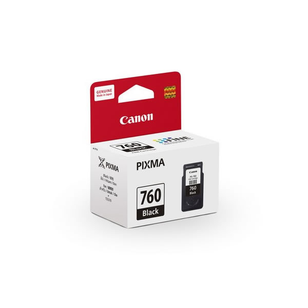 Primary image for Canon PIXMA Ink Cartridge (for TS5370), Black, PG-760