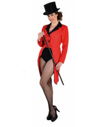 Tailcoat - Red,Circus / Ringmaster / Ladies Showman - sizes 6 - 22 - $31.46