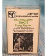Johann Sebastian Bach, Famous Chorales: Michael Laird, Trumpet The Scott... - $15.89