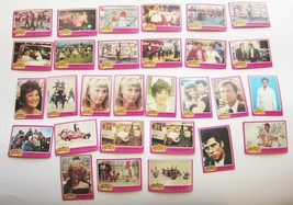 Lot of 29 GREASE Movie Trading Cards Vintage Topps Bubblegum 1970s John Travolta - $19.30