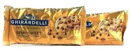 2 Bags Ghirardelli 12 Oz Premium Baking Semi Sweet Chocolate Chips BB 6/30/2022 - $21.99