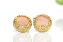 Bridal earrings,delicate earrings,gemstone earrings,post earrings,gold e... - $52.00+