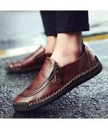 New Big Size 38-49 Men Casual Shoes Loafers Men's Flats Leather Shoes - $64.96+