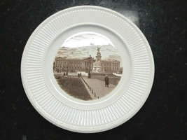 VTG WEDGWOOD OLD LONDON VIEWS BUCKINGHAM PALACE FIRST EDITION PLATE - $14.50