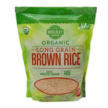 Wellsley Farms Organic Long-Grain Brown Rice, 4 lbs. - $20.68