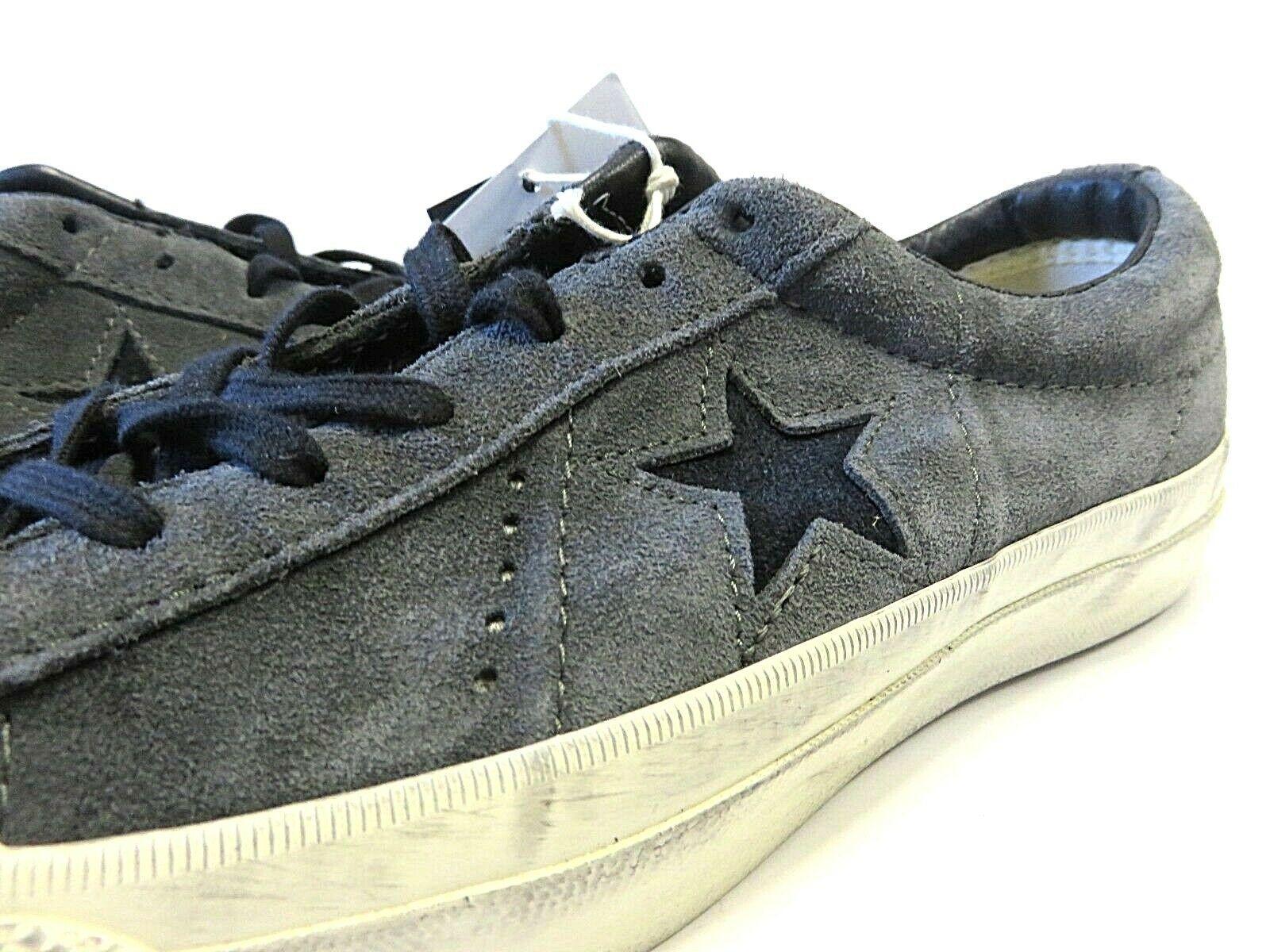 NEW Converse x John Varvatos Grey Star Shoes Size Men's 5.5 Women's 7.5 Low Top image 2