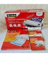 """Scotch Professional Quality Thermal Laminator 9""""x11.4"""" TL901 with Pouche... - $98.99"""