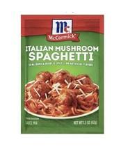 McCormick Italian Mushroom Spaghetti Sauce Mix 1 Pack 1.5oz - $4.99