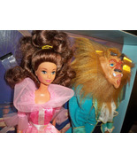 Disney Classics Beauty & the Beast 2 pack dolls Giftset NRFB Mattel #162... - $68.99