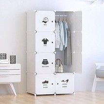 Closet Clothes Storage Portable Storage Organizer Student College Dorm W... - $68.49