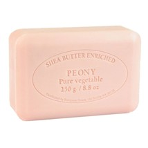 PRE de PROVENCE French Soap, PEONY, 250 Gram Large Bath Size, Single Bar... - $5.75