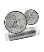 2007 Canadian 25¢ Vancouver 2010 Paralympics: Wheelchair Curling 25¢ Coi... - ₹2,176.51 INR