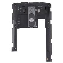 Back Plate Housing Camera Lens Panel  for LG G3 / D855(Black) - $6.46