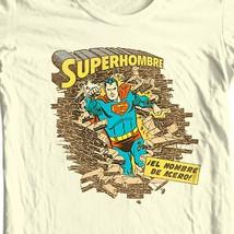 Superman SupermanHombre T-shirt Golden Age DC comics graphic cotton tee SM1397 image 1