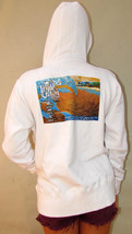 New Women Surf Art Triple Crown Surfing Contest Hawaii White Hoodie Sweat Shirt - $24.00