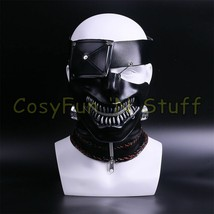 Movie Tokyo Ghoul Ken Kaneki Latex Cosplay Props Halloween Mask - $33.60 CAD