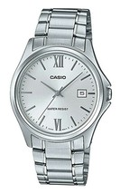 Casio MTP-1404D-7A2 Men's Dress Stainless Steel Silver Dial 3-Hand Analo... - $37.60