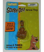 Scooby-Doo Figure Grow Toy, Just Drop In Water Grows 6 Times Size, NEW S... - $6.66
