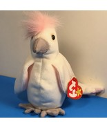 1998 BEANIE BABIES VINTAGE PLUSH STUFFED ANIMAL RETIRED TY TAG KUKU WHIT... - $19.75