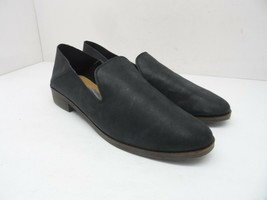 Lucky Brand Women's Slip-On Cahill Casual Flats Black Leather Size 9M - $47.49