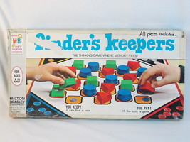 Finders Keepers 1969 Board Game Milton Bradley 100% Complete Excellent Condition - $17.74